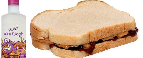 Lunch in a Bottle? Introducing PB&J Vodka