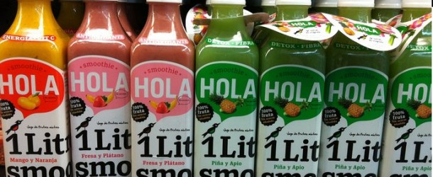 Hola Fruit Smoothies by Sin Secretos in Mexico
