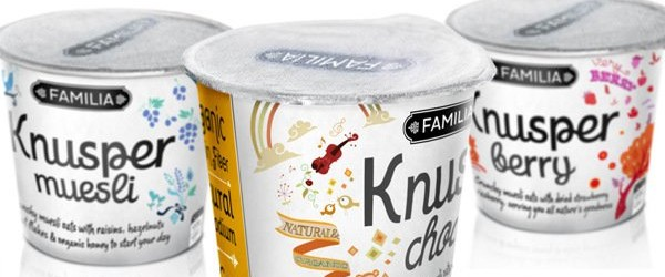 Packaging Spotlight: Knusper Muesli Packaging