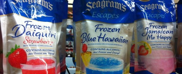 Product Launch: Seagrams Escapes Frozen Pouches