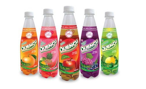 Quench Sparkling Juice Drink from the Philippines. Energizing, cool ...