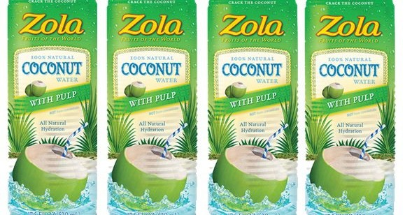 Product Spotlight: Zola Coconut Water with Pulp