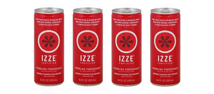 IZZE ALL NATURAL DRINK REVIEW - YouTube