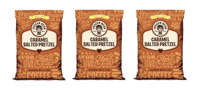 Drink Review: The Frozen Bean Caramel Salted Pretzel Frappe Blend