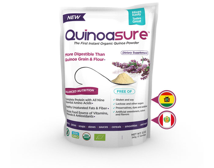 Supplement Spotlight Quinoasure Organic Quinoa Powder